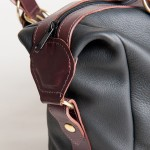 The Comrie (Black-Burgundy)