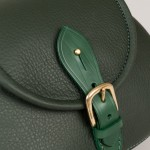 Buckle detail strathearn leather saddlebag