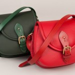 Group shot of the new Strathearn leather saddle bag colours