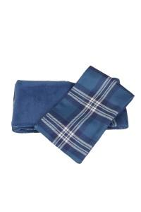 Tartan scarf, fleece lined, Earl of St Andrews Tartan