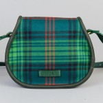 tartan saddlebag made in scotland
