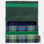 Tartan ipad cover - Mackenzie tartan, inspired by Outlander