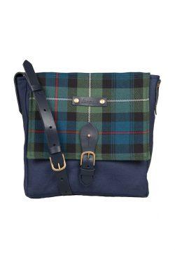 Mackenzie tartan satchel