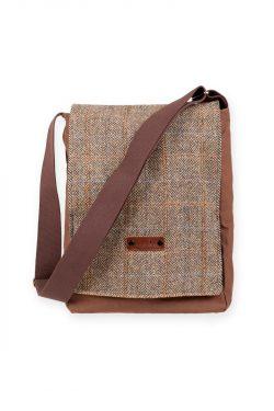 Melrose Harris Tweed satchel